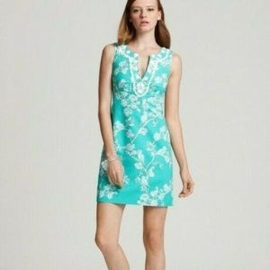Lilly Pulitzer Adelia Birds and Bees Mini Dress 0